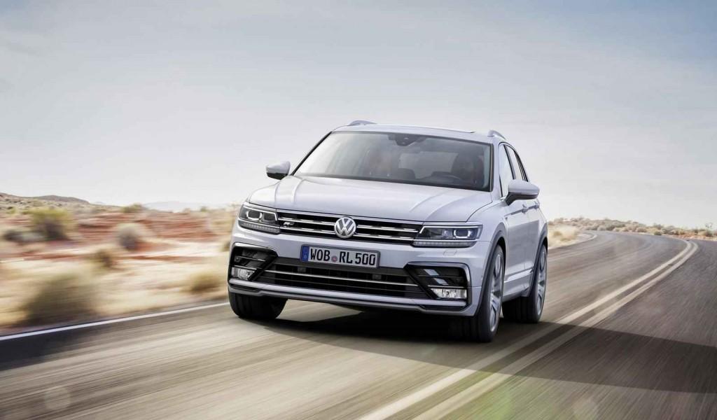 2016 Model Volkswagen Tiguan R-Line