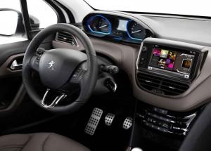 2016 Peugeot 2008 İç Tasarım