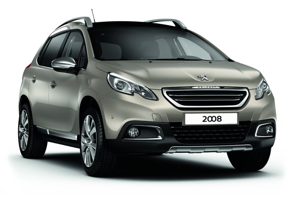 2016 Peugeot 2008 Renk Seçenekleri