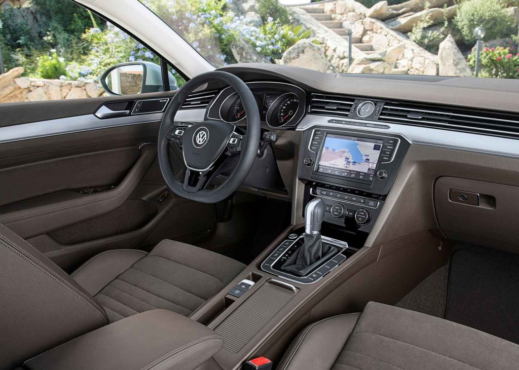 2016 Volkswagen Passat İç Tasarım