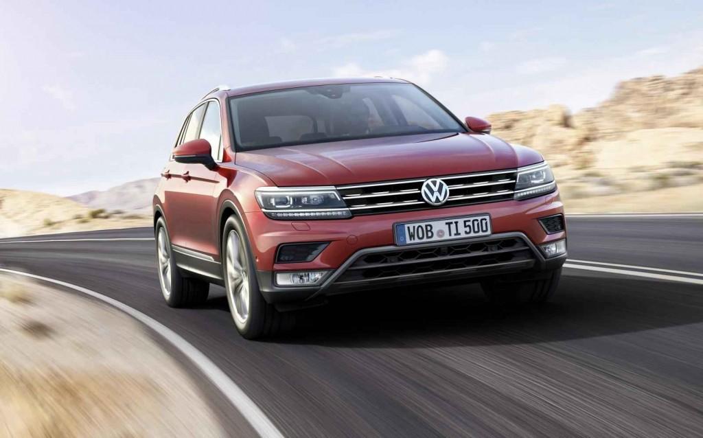 2016 Volkswagen Tiguan R-Line Renk Seçenekleri