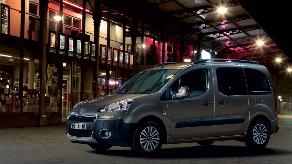 Hafif Ticari Peugeot Partner Tepee