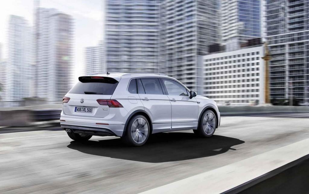 SUV Segmenti Volkswagen Tiguan R-Line