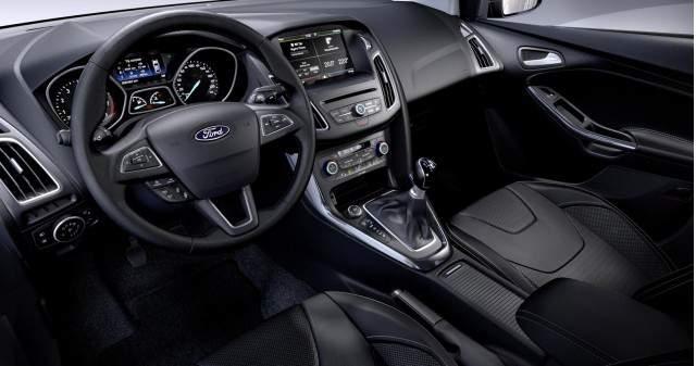 2016 Ford Focus Sedan İç Tasarım