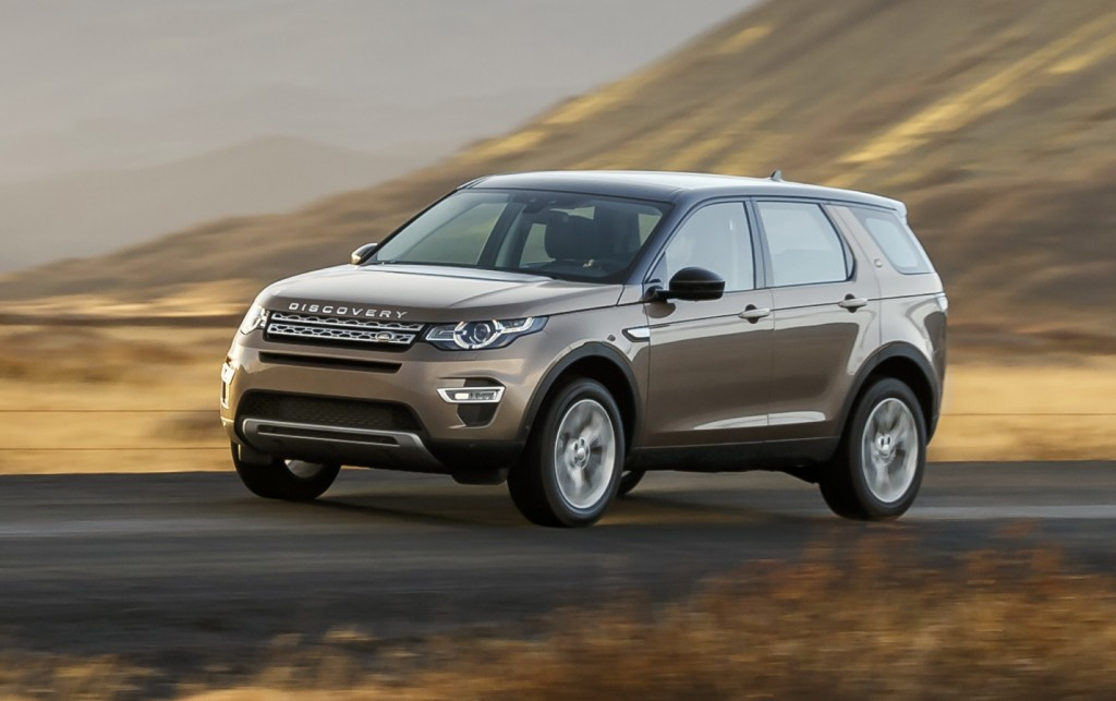 2016 Model Land Rover Discovery Sport