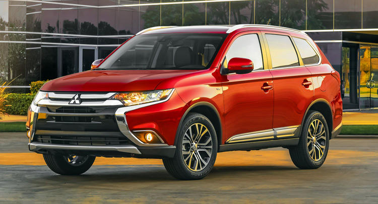 2016 Model Mitsubishi Outlander