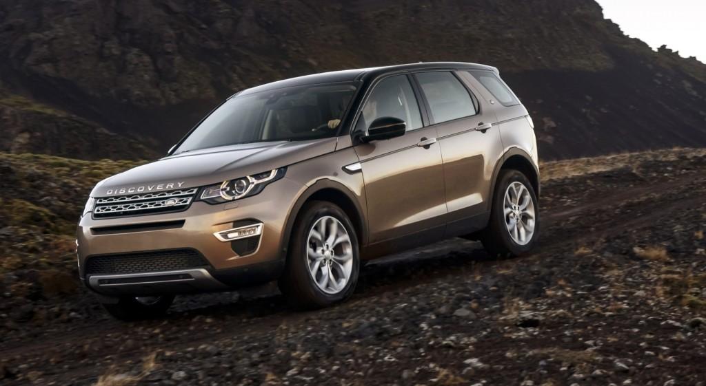 SUV Segmenti Land Rover Discovery Sport