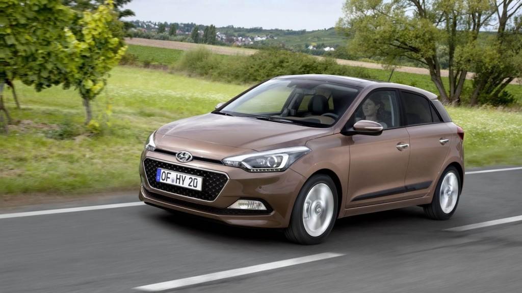 2016 Hyundai i20 Renk Seçenekleri