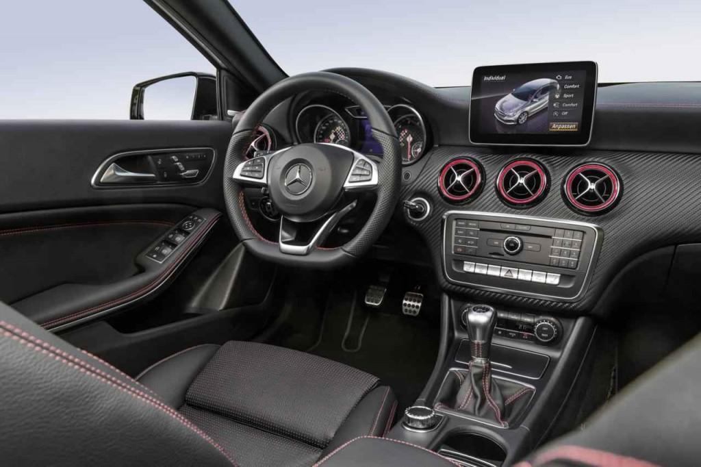 2016 Mercedes A Serisi İç Tasarım