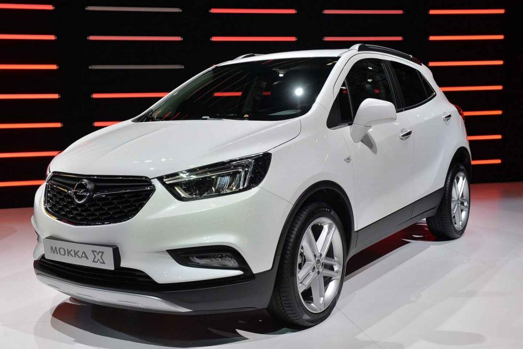 2016 Model Opel Mokka X