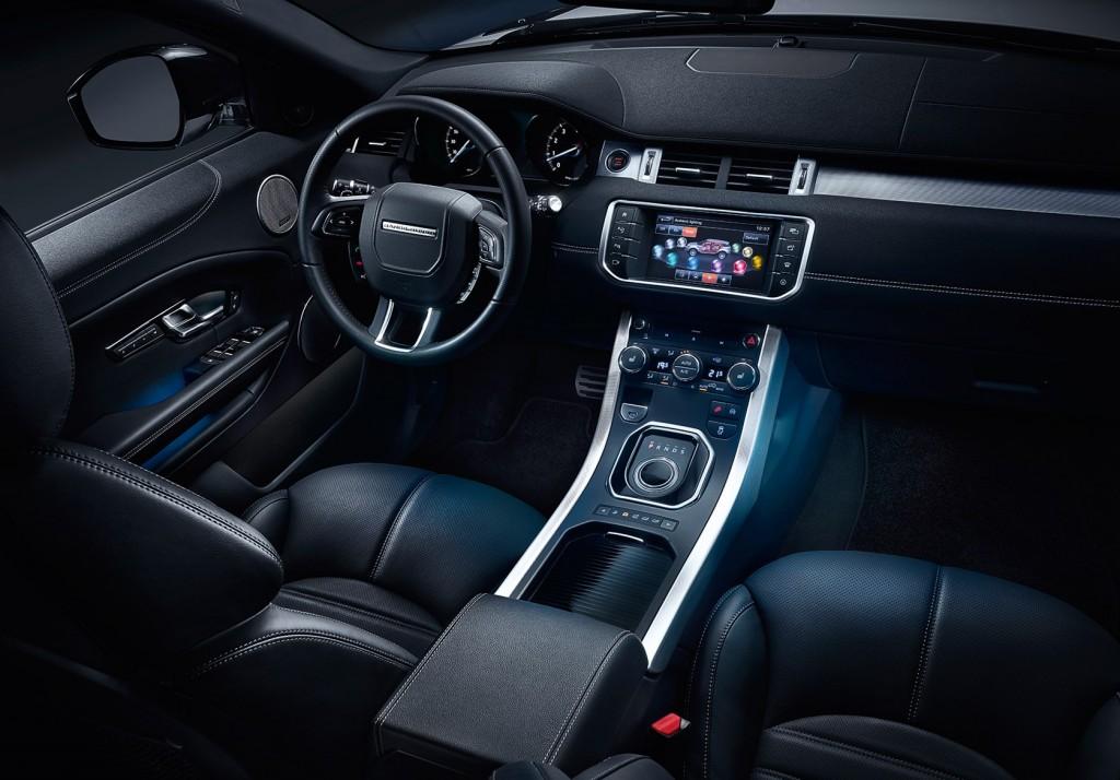2016 Range Rover Evoque İç Tasarım