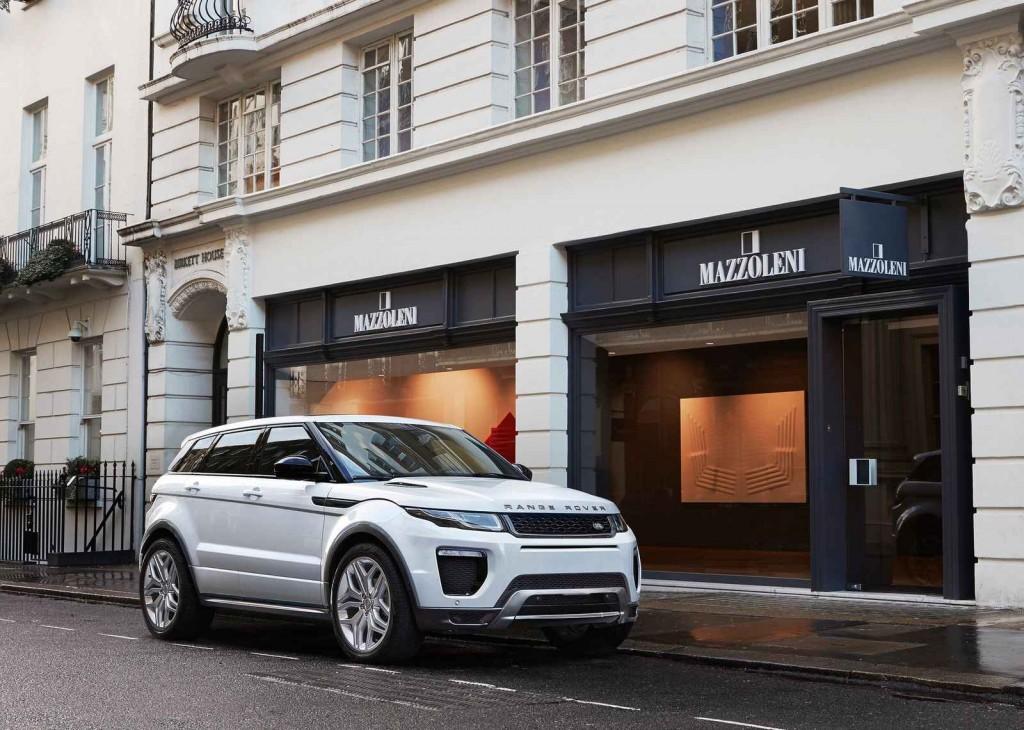 SUV Segmenti Range Rover Evoque