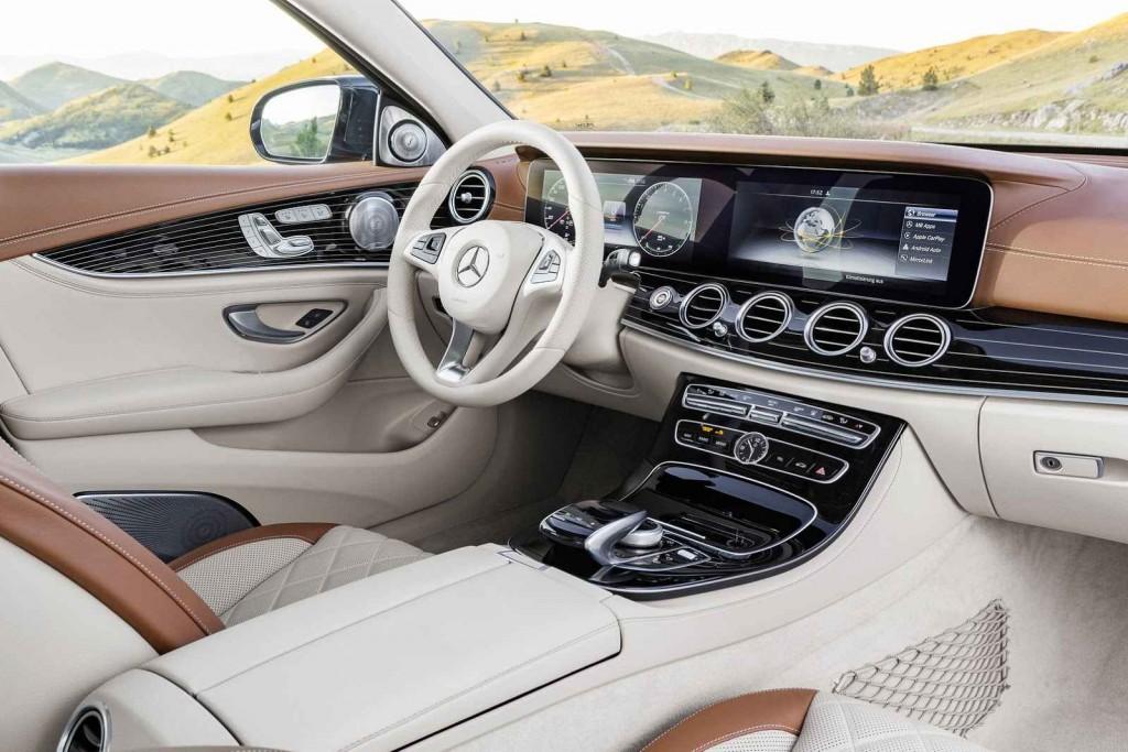 2016 Mercedes-Benz E Serisi İç Tasarım