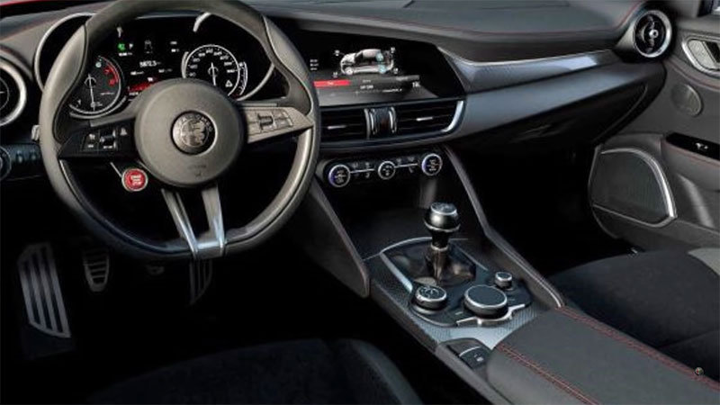 2016 Alfa Romeo Giulietta İç Tasarım