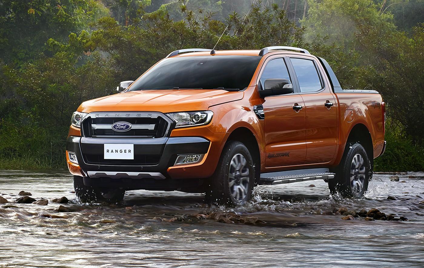 2016 Ford Ranger Renk Seçenekleri
