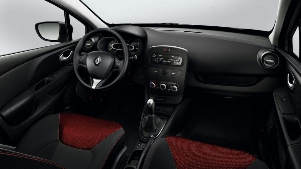 2016 Renault Clio İç Tasarım