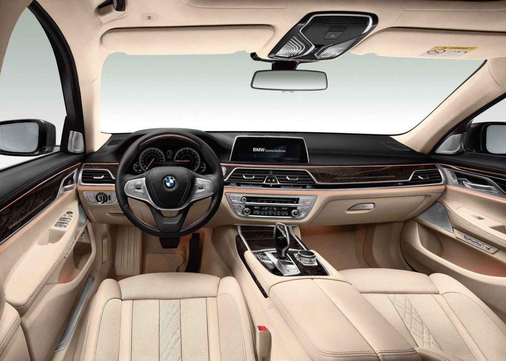 BMW 7 Serisi İç Tasarım