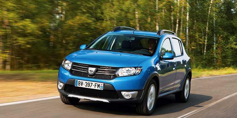 2016 Dacia Sandero Stepway Renk Seçenekleri