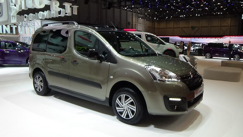 2016 Model Citroen Berlingo