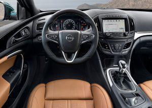2016 Opel İnsignia İç Tasarım
