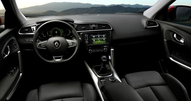 2016 Renault Kadjar İç Tasarım