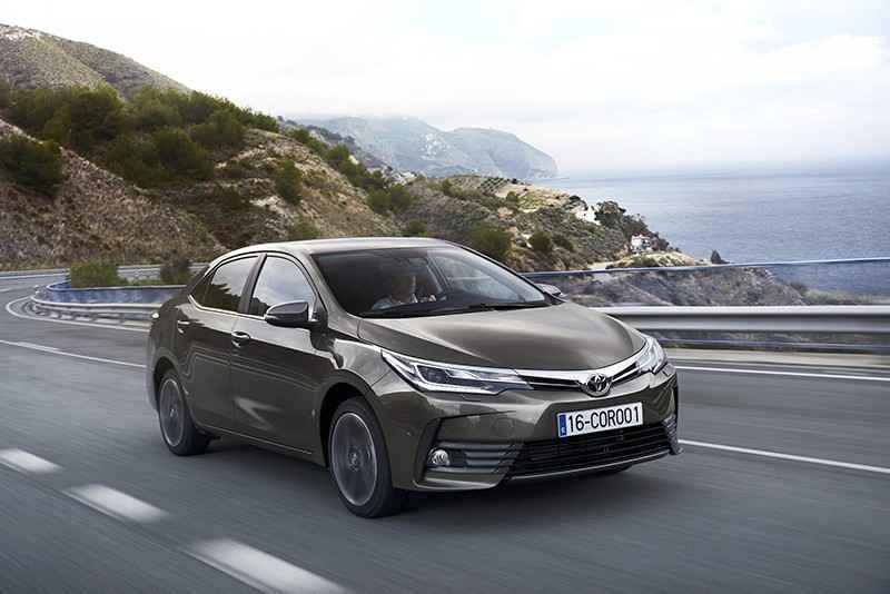 C Segmenti Toyota Corolla