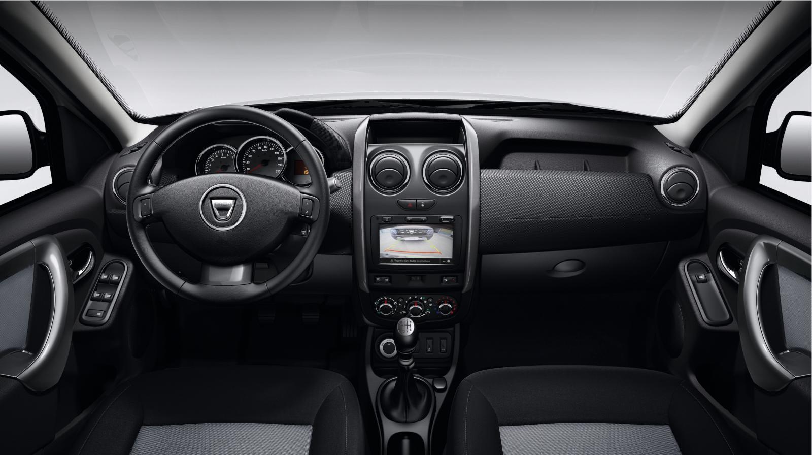 2016 Dacia Duster İç Tasarım