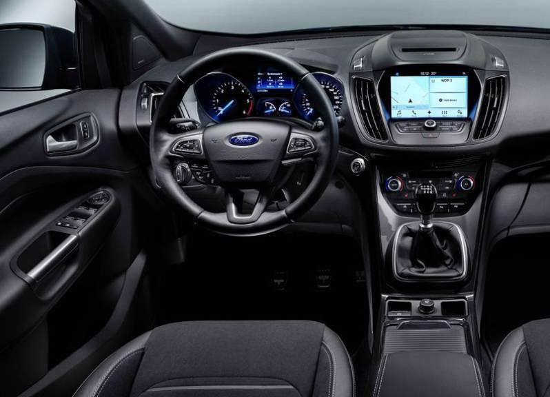2016 Ford Kuga İç Tasarım