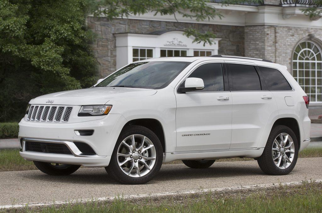 2016 Model Jeep Grand Cherokee