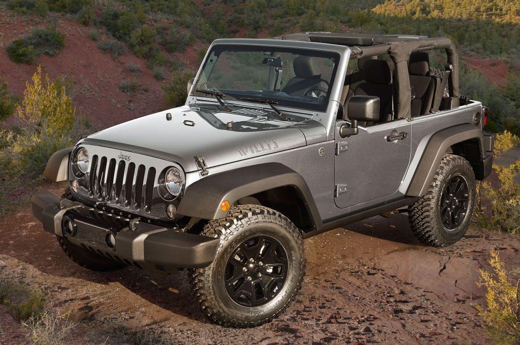 2016 Model Jeep Wrangler