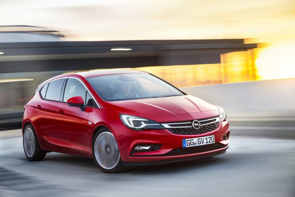 2016 Model Opel Astra