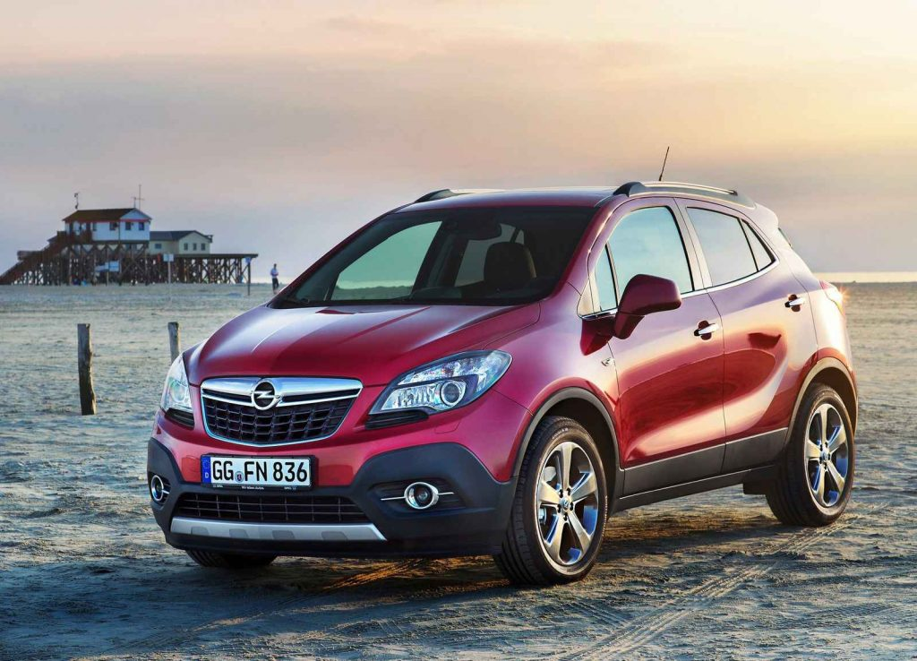 2016 Model Opel Mokka