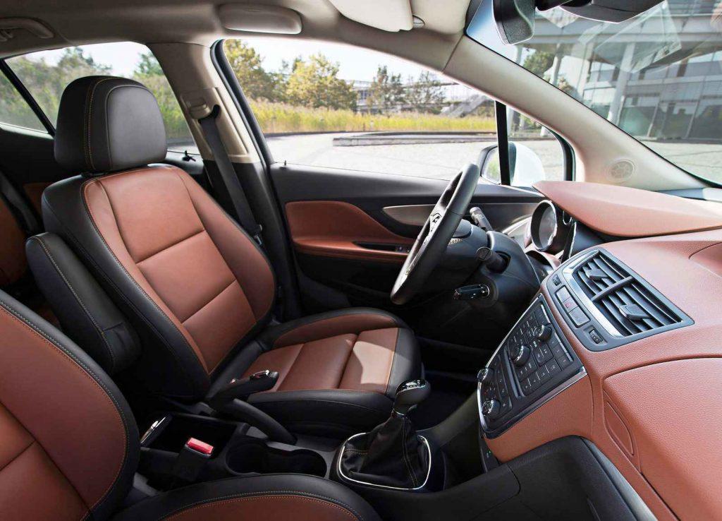 2016 Opel Mokka İç Tasarım