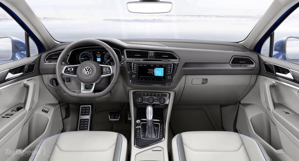 2016 Volkswagen Tiguan İç Tasarım