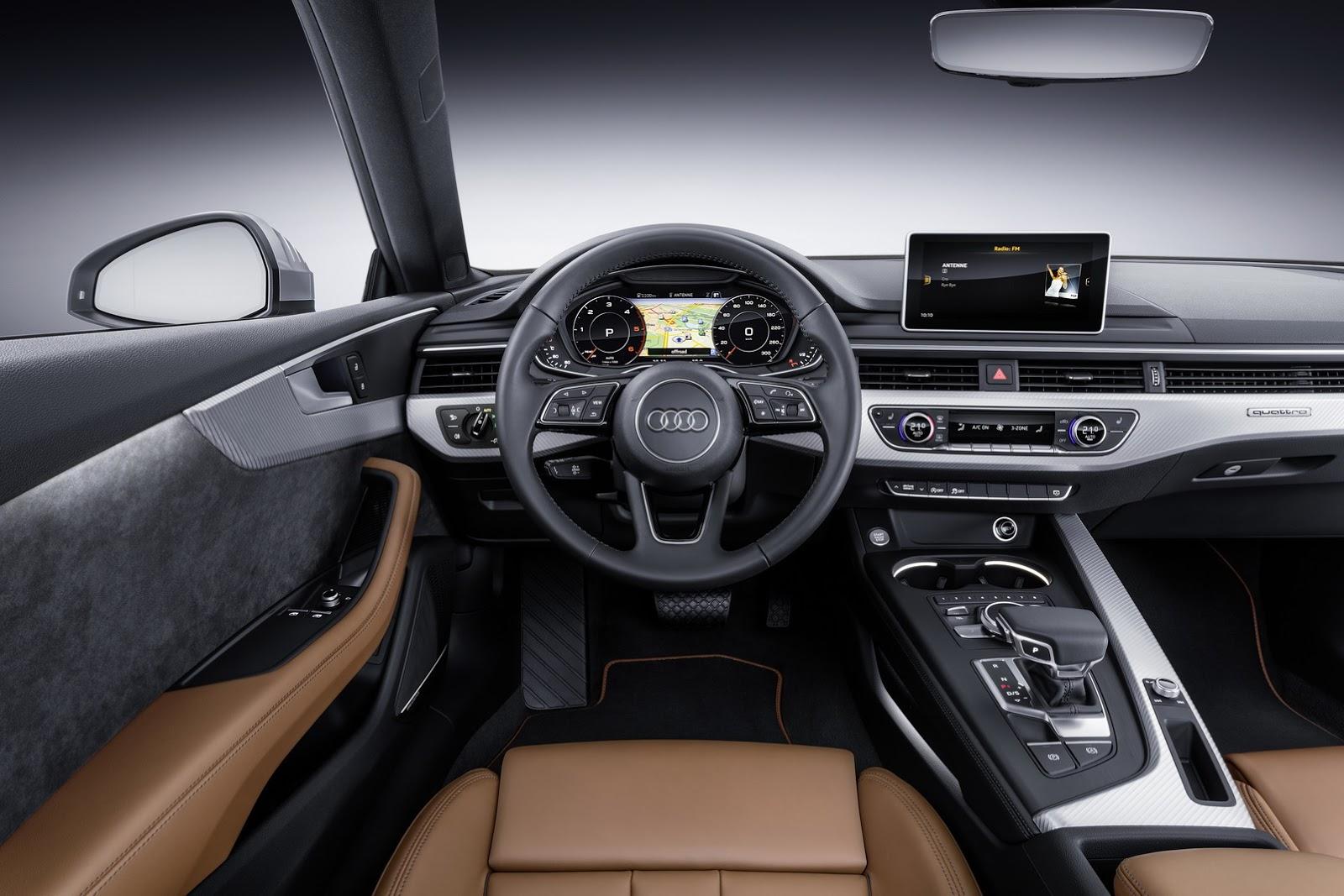 Audi 2017 Model A5 İç Görünüm