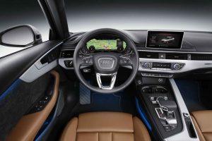 2016 Audi A4 İç Tasarım