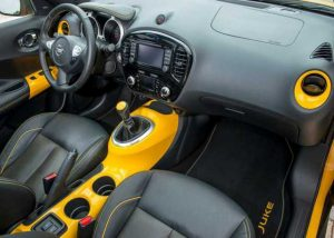2016 Nissan Juke İç Tasarım