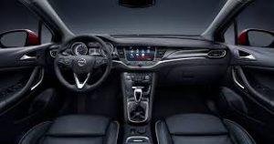 2016 Opel Astra İç Görünüm