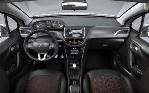 2016 Peugeot 208 İç Tasarım