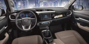2016 Toyota Hilux İç Tasarım
