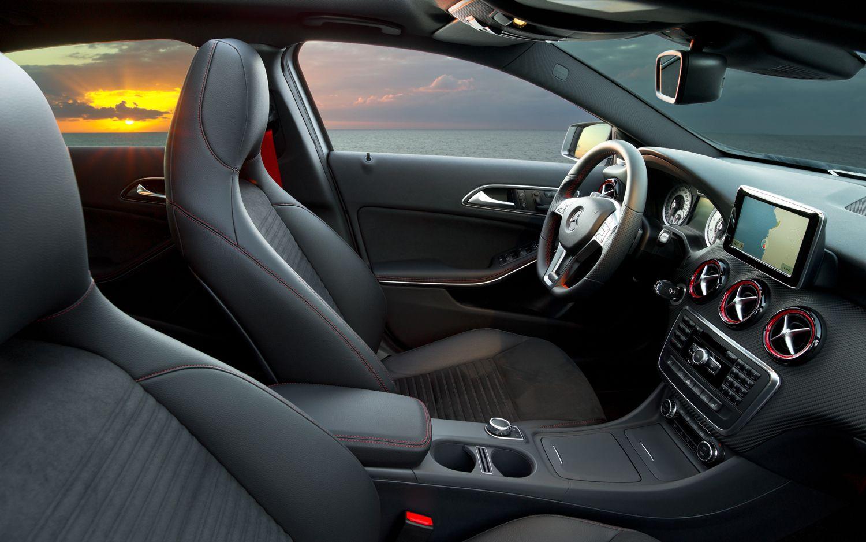 Mercedes A Serisi İç Tasarım