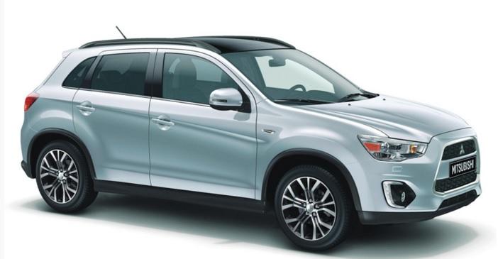 Mitsubishi asx 2016 fiyatları