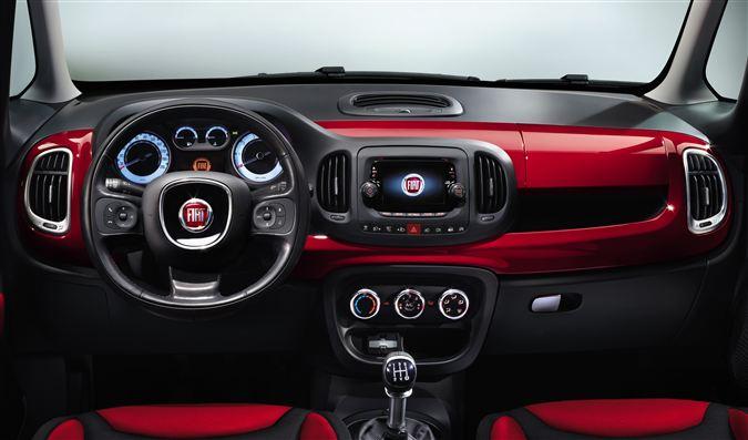 Yeni Fiat 500X İç Görünüm