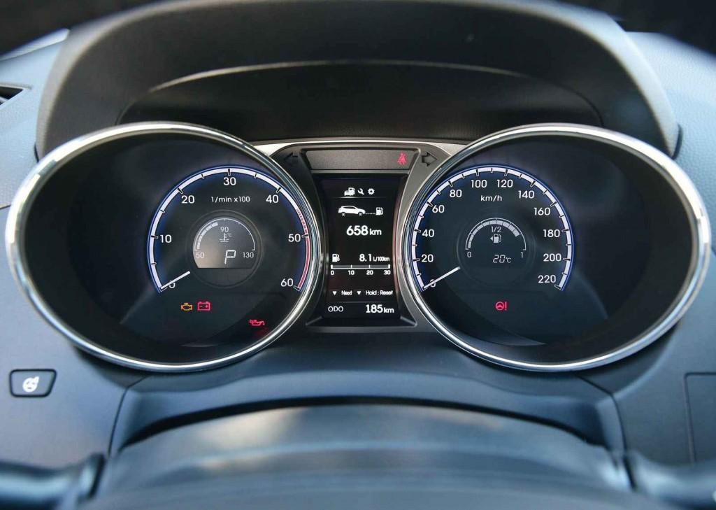 2015 Hyundai ix35 Gösterge Paneli