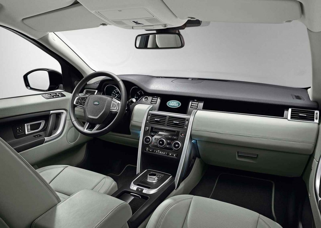 Land Rover Discovery Sport 2015 İç Görünüm
