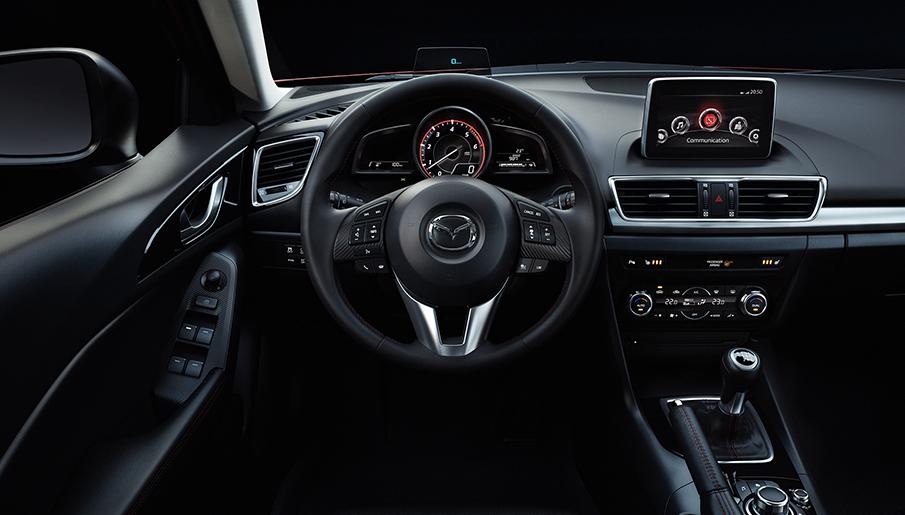 Mazda 3 İç görünüm