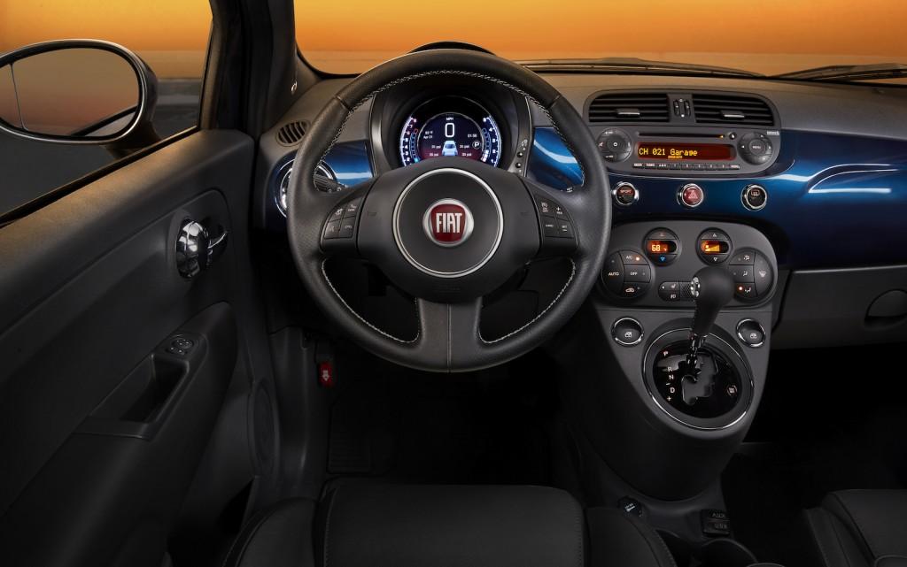 Fiat 500 İç Görünüm