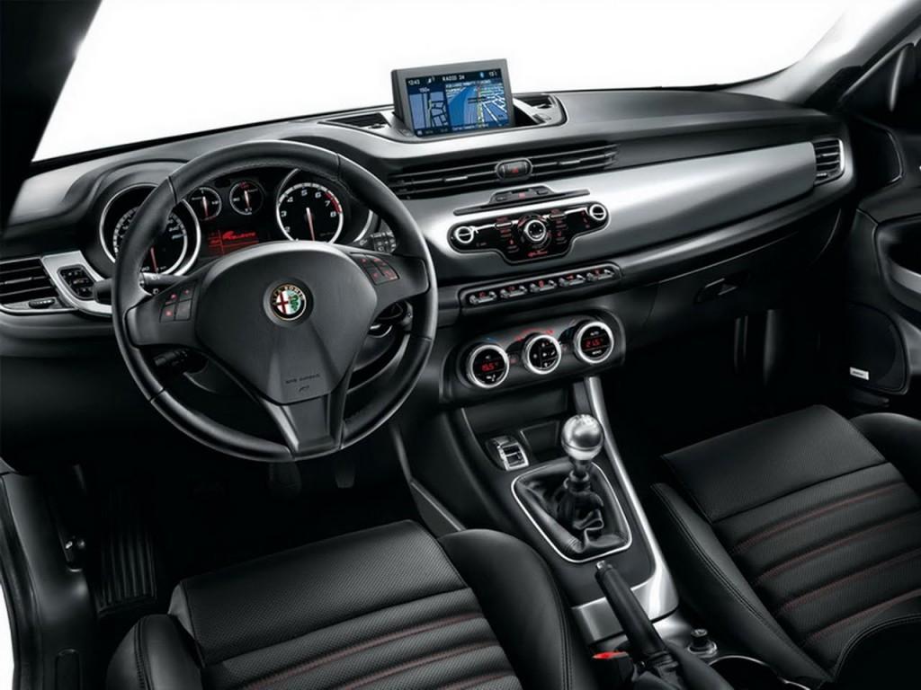 2015 Alfa Romeo Giulia İç Tasarım