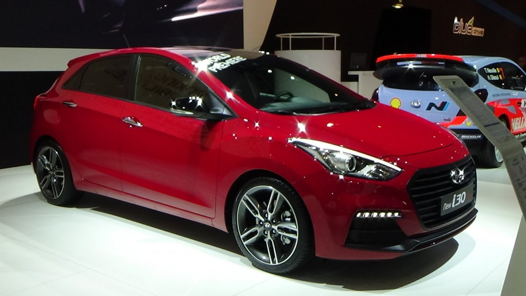 2015 Hyundai i30 Renk Seçenekleri