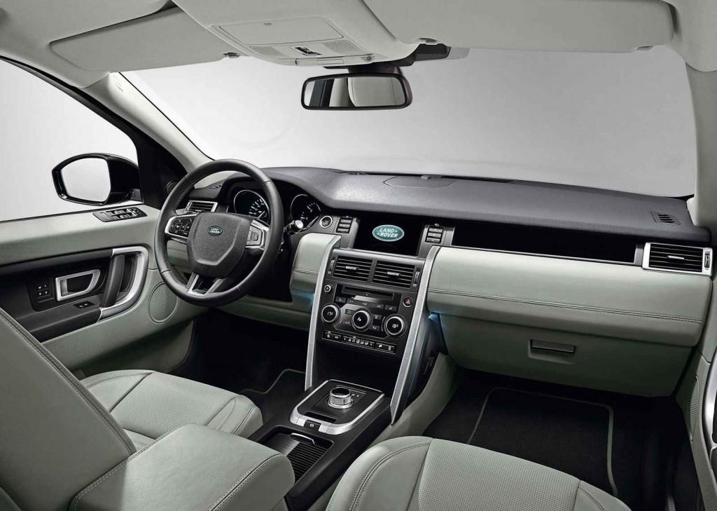 2015  Land Rover Discovery Sport İç Tasarım